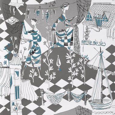 Gaston y daniela wallpapers telas alfombras - Gaston y daniela papel pintado ...