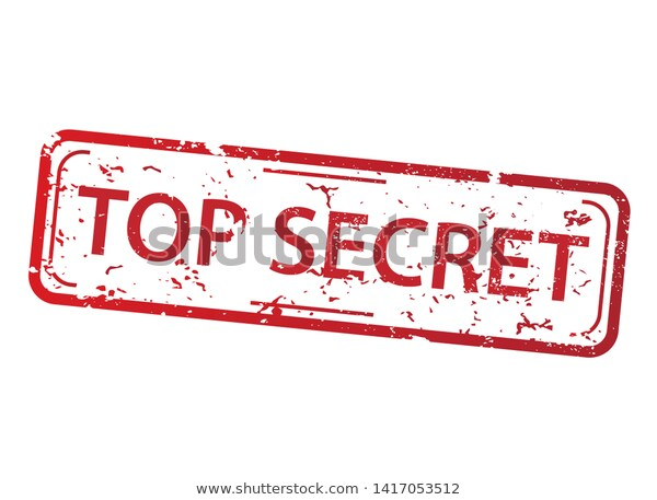 Rectangle Red Stamp Words Top Secret Stock Vector Royalty Free 1417053512 Paraben Free Products Stock Images Free Stamp