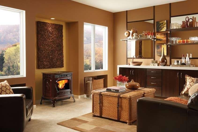 Stufe a pellet di design - Stufa a pellet per cucina e salotto ...