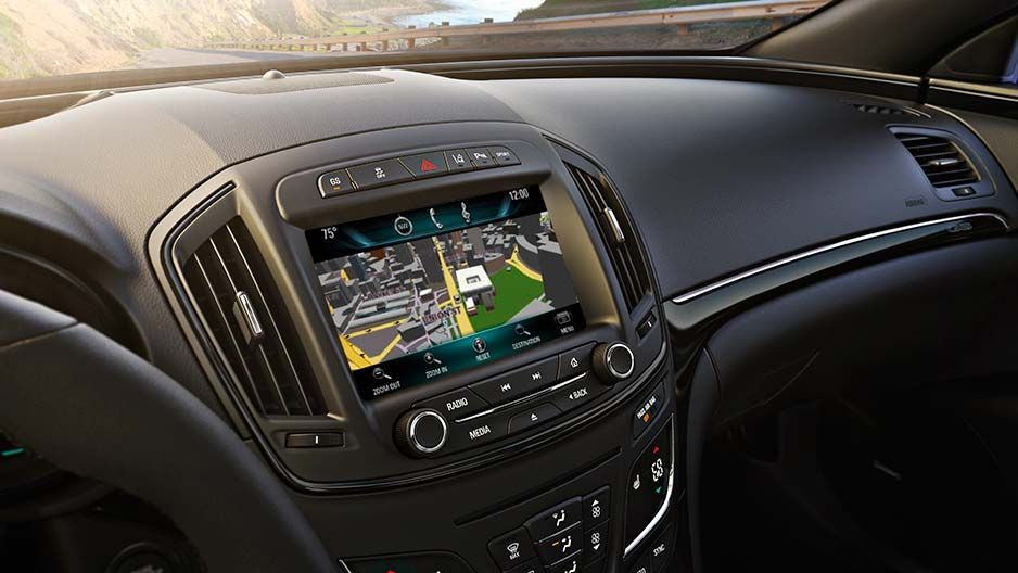 Technology Buick Intellilink With Optional Navigation O Pt For Intellilink With Navigation And Access Real Time Traffic Data Buick Models 2015 Buick Buick