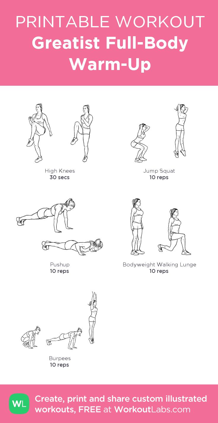 Magnifiek Beroemd Warming Up Oefeningen Gym #WPQ97 - AgnesWaMu #TU18