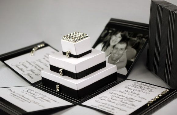 London Stripes Exploding Box Wedding Invitation Photo By Iliana Designs Brisbane Qld