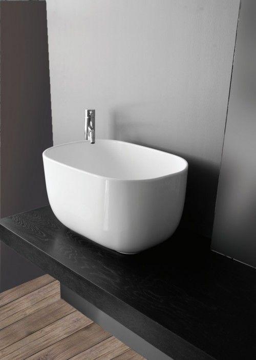 Area Lavabo da appoggio 55X38cm. H 30 Opera Sanitari | Lavabi bagno ...