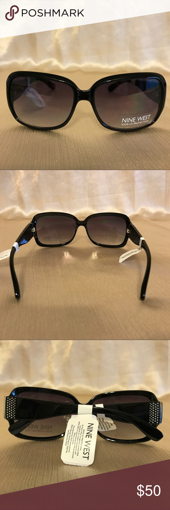 ad4c078a91 NWT NINE WEST SUNGLASSES 💯 UV PROTECTION New w  tag best to wear this  summer!100% Authentic Nine West Sunglasses.Open for your offer 😎 Nine West  ...
