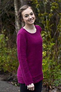 Made in the Shade Tunic by Melissa Leapman | dk 22st/4in | Free from Cascade Yarns