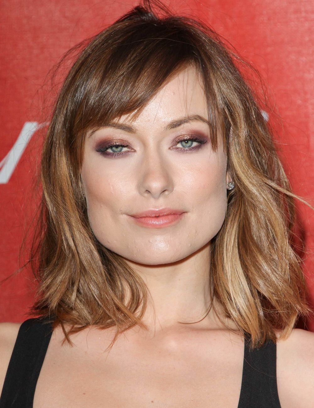 Side Swept Bangs Your Beauty 411 Remy Hair Wigs Low Maintenance Short Haircut Brunette Bob With Bangs