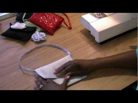 How to Sew a Clutch Purse - Free Video Tutorial