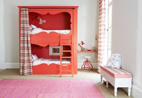 Vorhang Etagenbett Kinder : Etagenbett für kinder mit vorhang kinderzimmer ideen