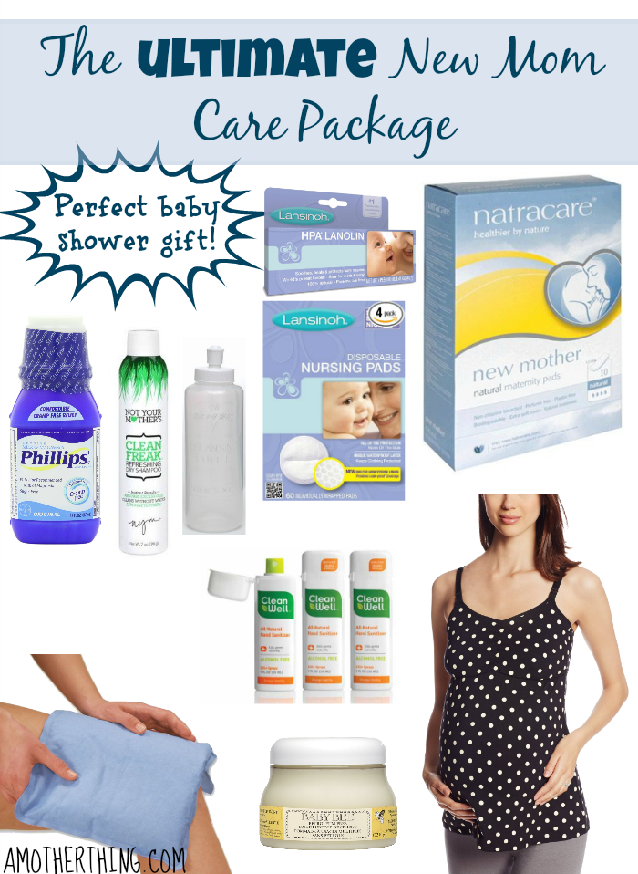 The Ultimate New Mom Care Package Perfect Gift For A Baby Shower Babyshower Gifts Pregnancy Newbaby