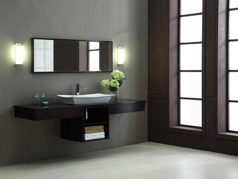 "Designer Bathroom Cabinets Prepossessing Blox Xylem 80"" Discount Modern Bathroom Vanities Sethttpwww Decorating Inspiration"