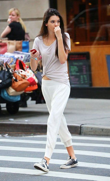 casual (Kendall Jenner) #streetstyle #fashion #her