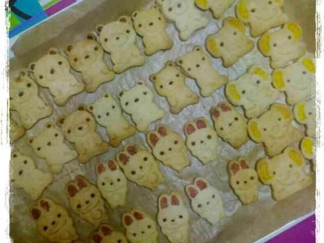 さくほろ動物クッキー( ˙  ˙ )の画像