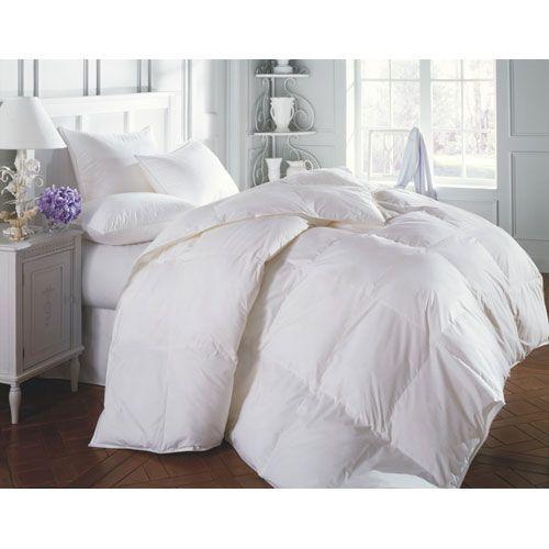 Sierra White Super King 120x120 71oz Comforter Lightweight Warmth Comforters Bedding