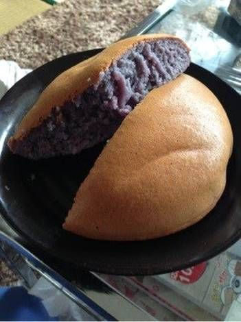 Simple Purple Sweet Potato Cake Made In A Rice Cooker Recipe In