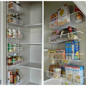 Organizer Pantry Shelving Systems For Cluttered Storage Es With Regard To Size 1296 X 972 Wire Door Coordinating Could Be