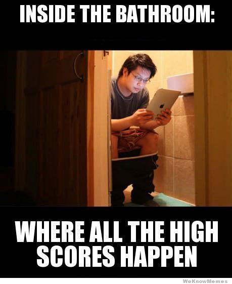 Bathroom High Scores Meme Humor Inappropriate Best Funny Pictures Humor