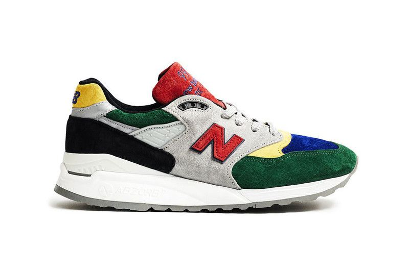 Todd Snyder Links with New Balance for Vibrant 998