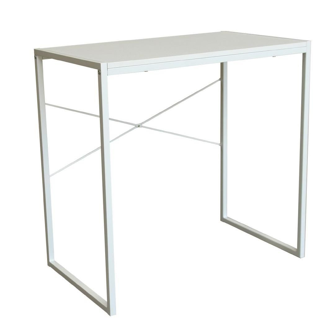 Workspace Sam Desk White  White desks, Desk, Work space