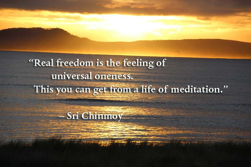 Meditation Quotes Alluring Quotes On Meditation  Sri Chinmoy Quotessri Chinmoy Quotes