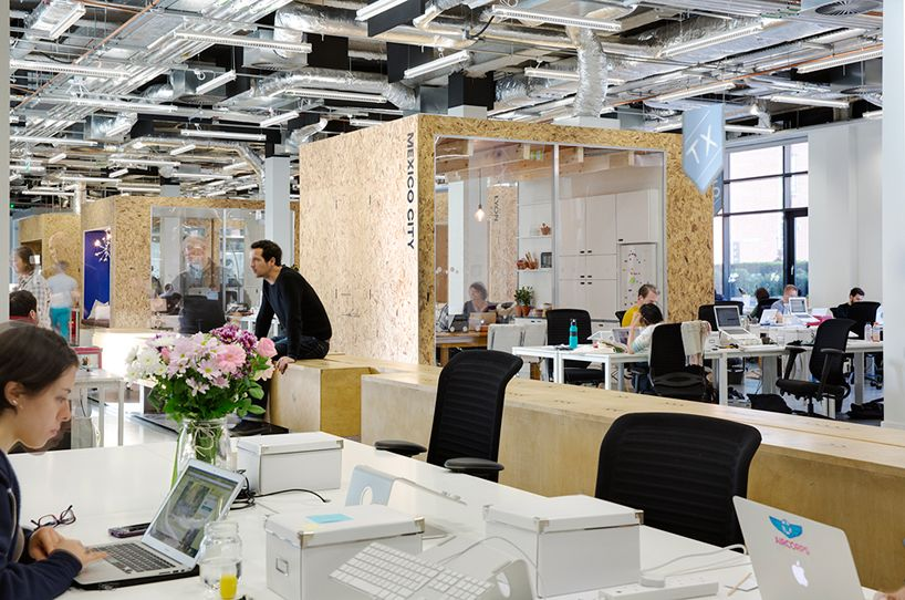 dublin office space. Heneghan Peng Creates Open Collaborative Spaces For Airbnb Dublin Office Space