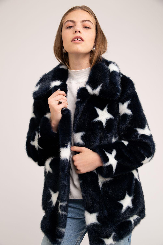 43750d3897b1 TAMMY - Star - Jakke - A Cool London Based Faux Fur Brand in 2019 ...