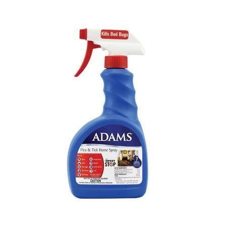 2 Pack Adams Flea and Tick Control Home Spray ALSO KILLS ...