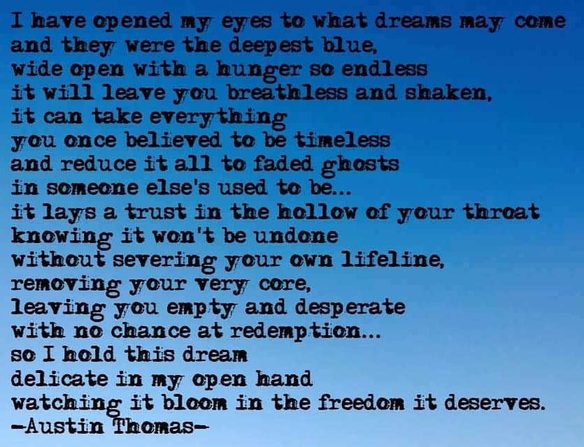 what dreams may come poem