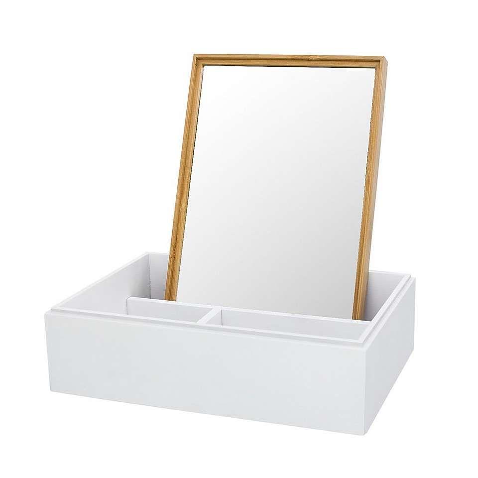 Elements Bamboo Mirror Storage Box Elements Bamboo