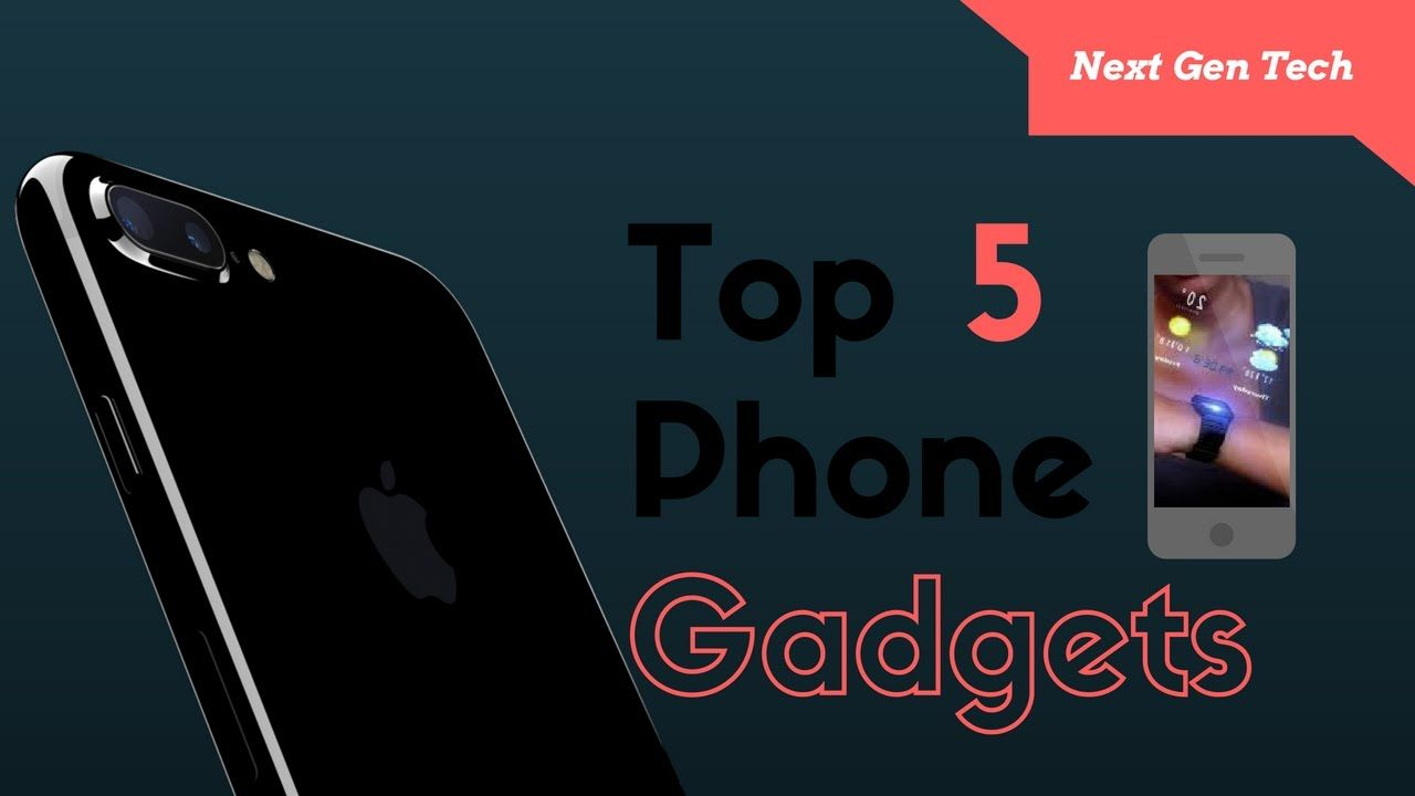 Top 5 Best iPhone Gadgets That you Must BUY