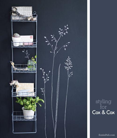 sur un mur de peinture ardoise un petit dessin est si. Black Bedroom Furniture Sets. Home Design Ideas