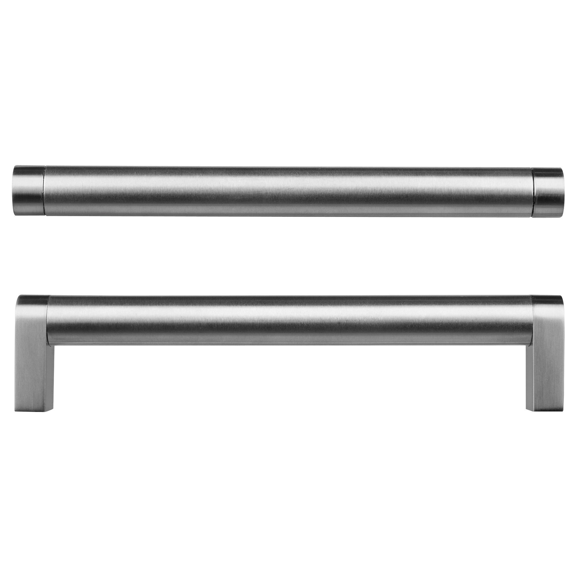 IKEA - ORRNÄS, Handle, stainless steel colour, 170 mm, , The clean lines of  these smooth stainless-steel handles give
