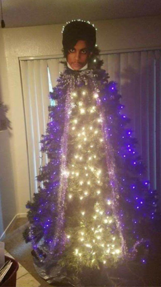 Prince Christmas Tree Love It Purple Christmas Christmas Tree Awkward Family Christmas