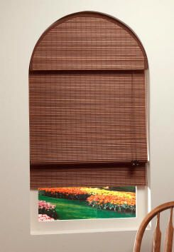 Window Covering For Tricky Half Round Window In 2nd
