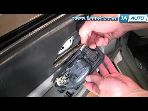 How To Install Replace Inside Door Handle Honda Accord 94 97 1aauto Com Replacing Interior Doors Door Handles Honda Accord