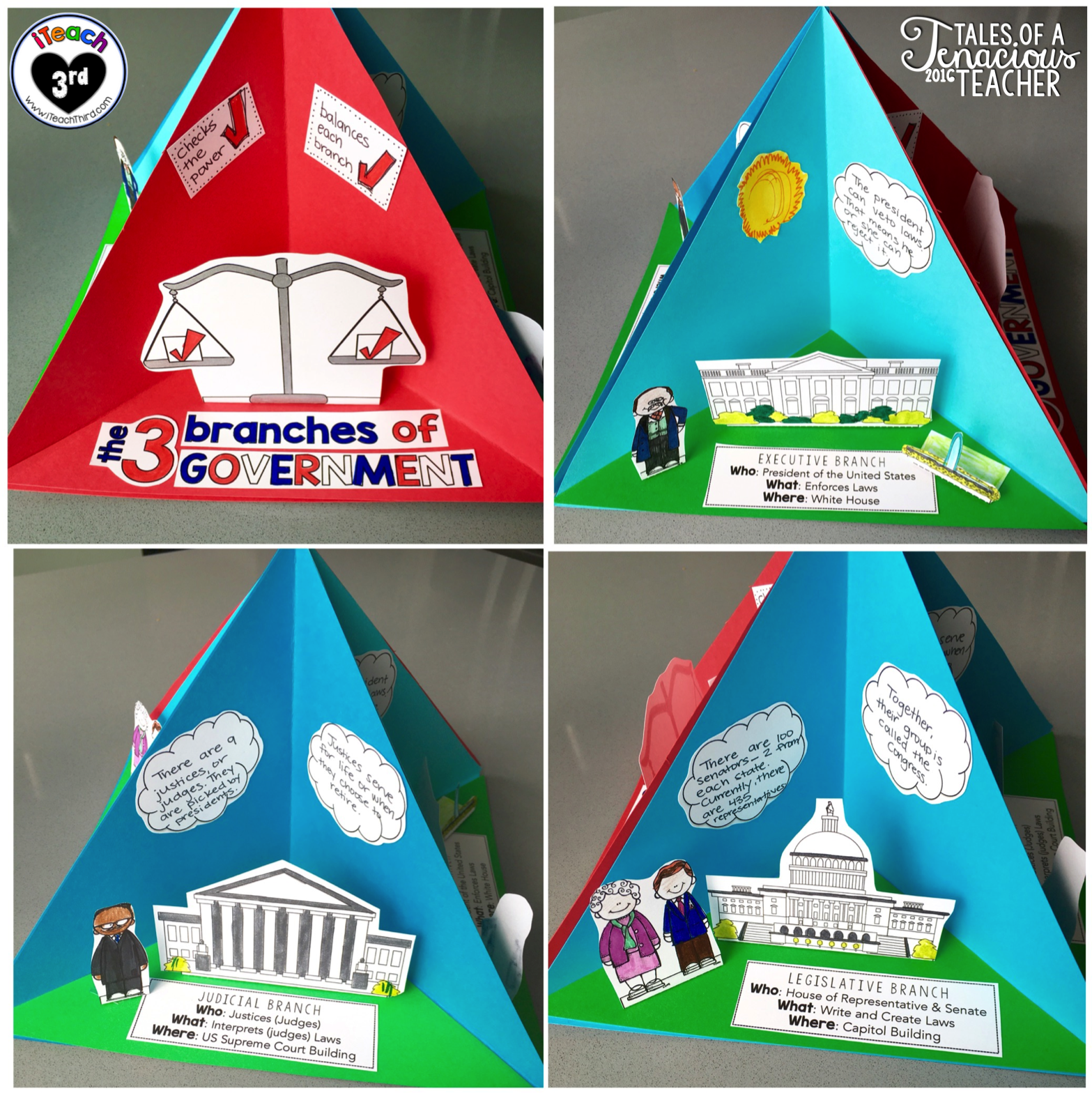 I Blogged Over At Iteach Third How I Created A Classroom Congress To Really Take Our Learning Of