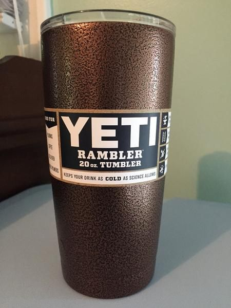 Copper Vein Powder Coating Paint 1 LB | Powder Coated Yeti and RTIC
