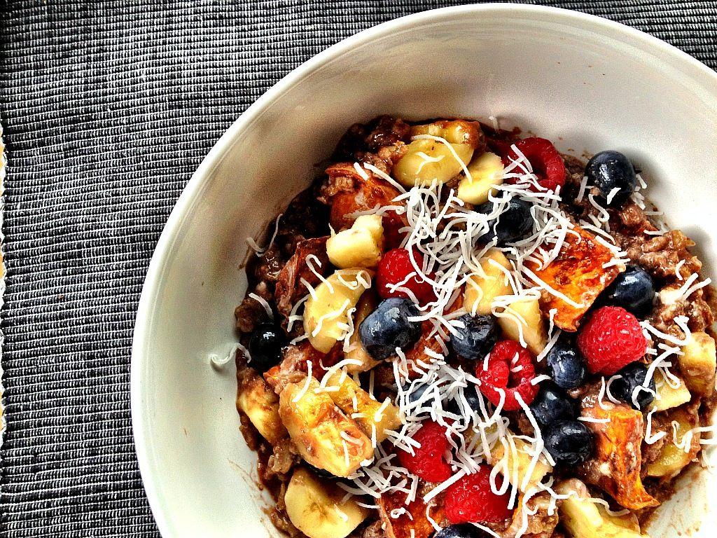 Dessert Oatmeal Bowl