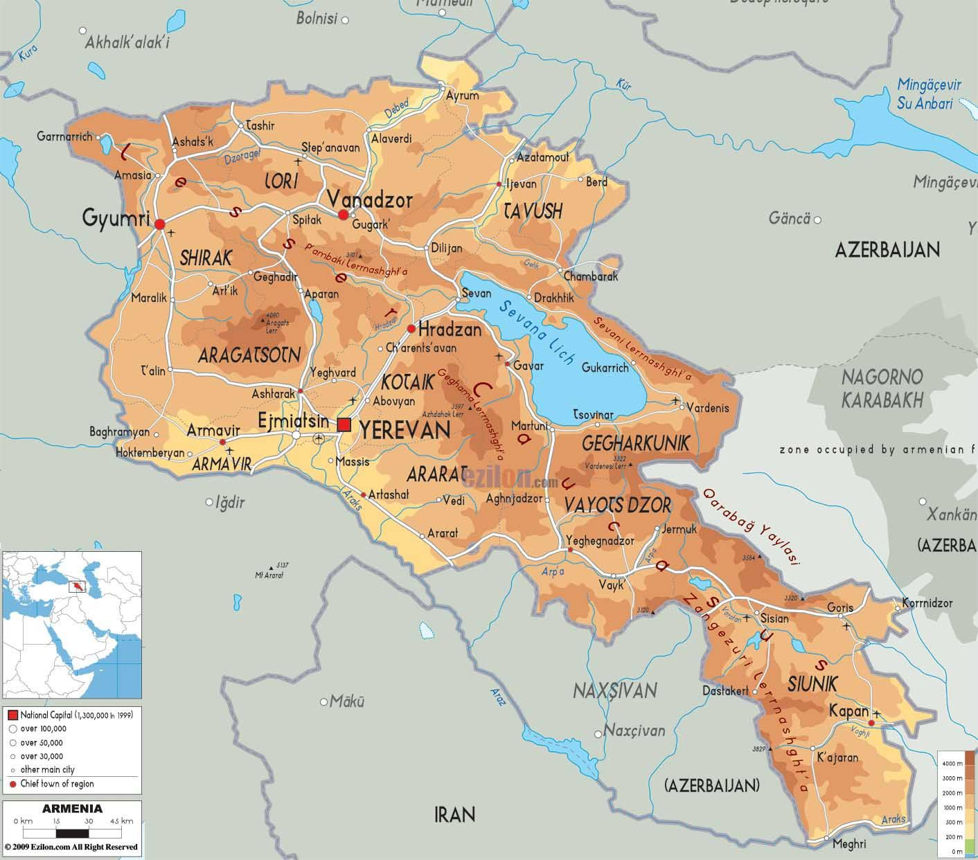 Pin by Jack Farmer on Maps of Armenia Pinterest Armenia