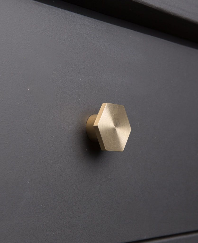 Bauhaus Kitchen Design: BAUHAUS Hexagonal Knob