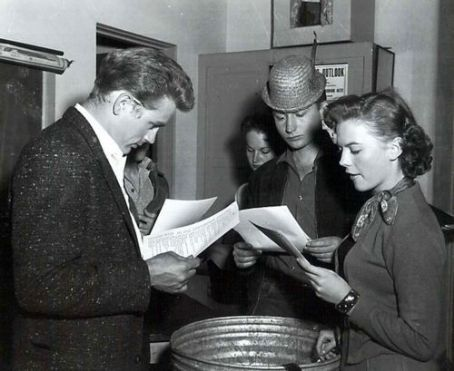 rehearsing Rebel Without a Cause