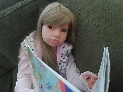 Large 5 7 Year Old Girl Reborn Doll Alonka Aloenka