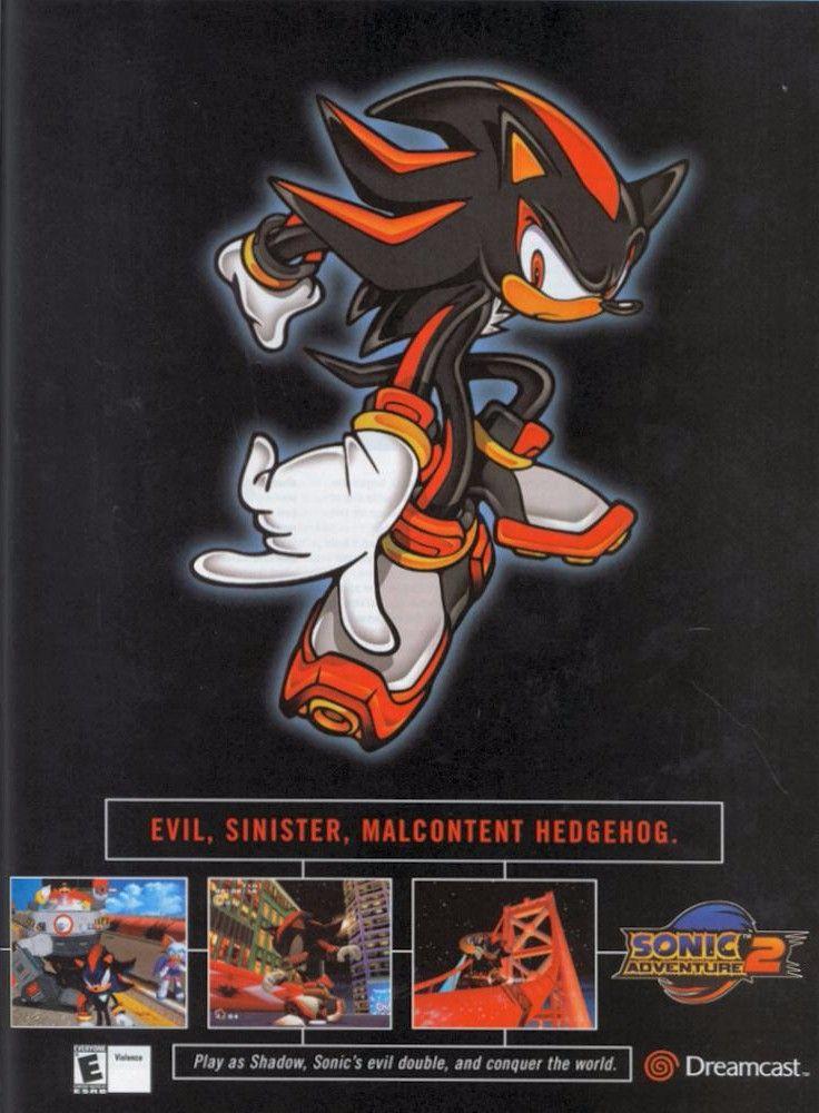 Sonic Adventure 2 Sega Dreamcast Retro Games Poster Sonic Adventure Sonic Adventure 2