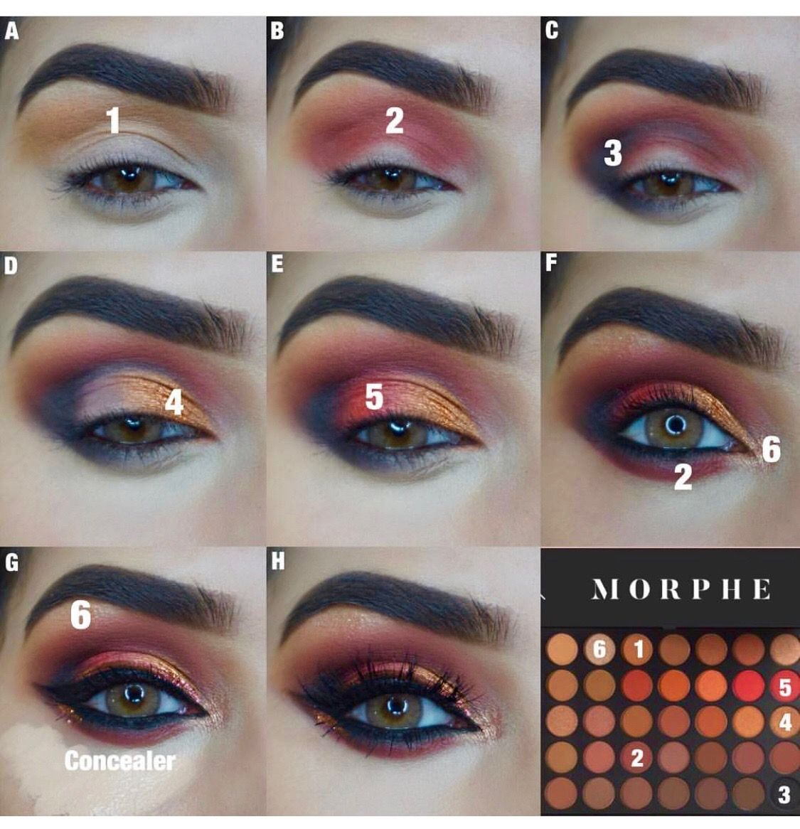 Morphe palette Makeup morphe, Eyeshadow makeup, New