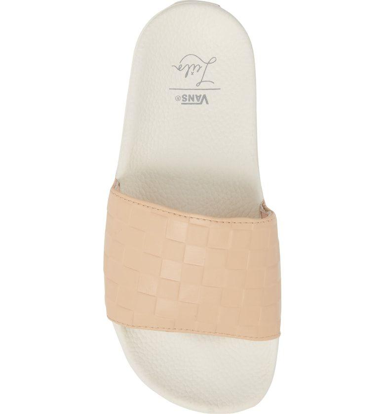 d7d58d3347e2 x Leila Hurst Slide Sandal