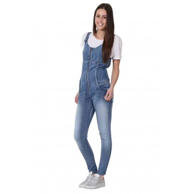 RUBY Women's Slim fit Denim Jumpsuit. All-in-one. Denim #playsuit ...