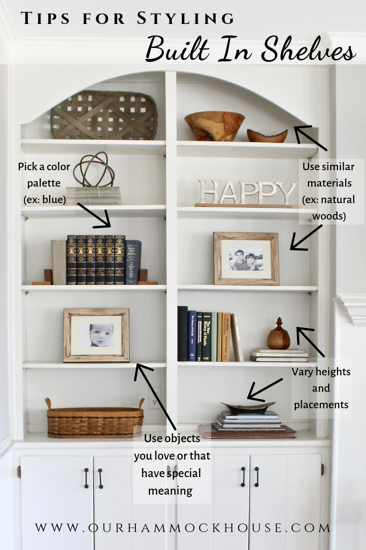 Photo of How to style built-in shelves with your favorite objects Our hammocks …