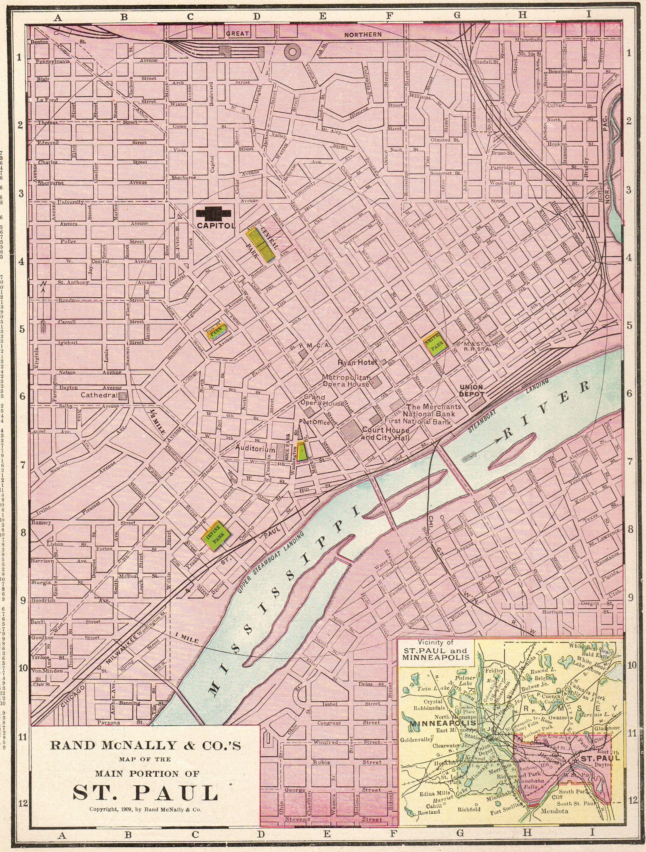 1899 Antique ST PAUL City Map of St Paul Minnesota Vintage ... on hibbing minnesota on map, crookston minnesota on map, saint louis missouri on map, lakeville minnesota on map, saint paul minnesota christmas, roseville minnesota on map, ely minnesota on map, champlin minnesota on map, mankato minnesota on map, oakdale minnesota on map, minneapolis minnesota on map, moorhead minnesota on map, pipestone minnesota on map, bloomington minnesota on map, rosemount minnesota on map, brainerd minnesota on map, rochester minnesota on map, buffalo minnesota on map, new hope minnesota on map, duluth minnesota on map,