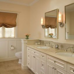 toilet pony wall design ideas, pictures, remodel and decor