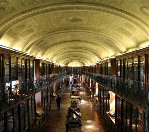 Il salone monumentale della Biblioteca Reale di Torino