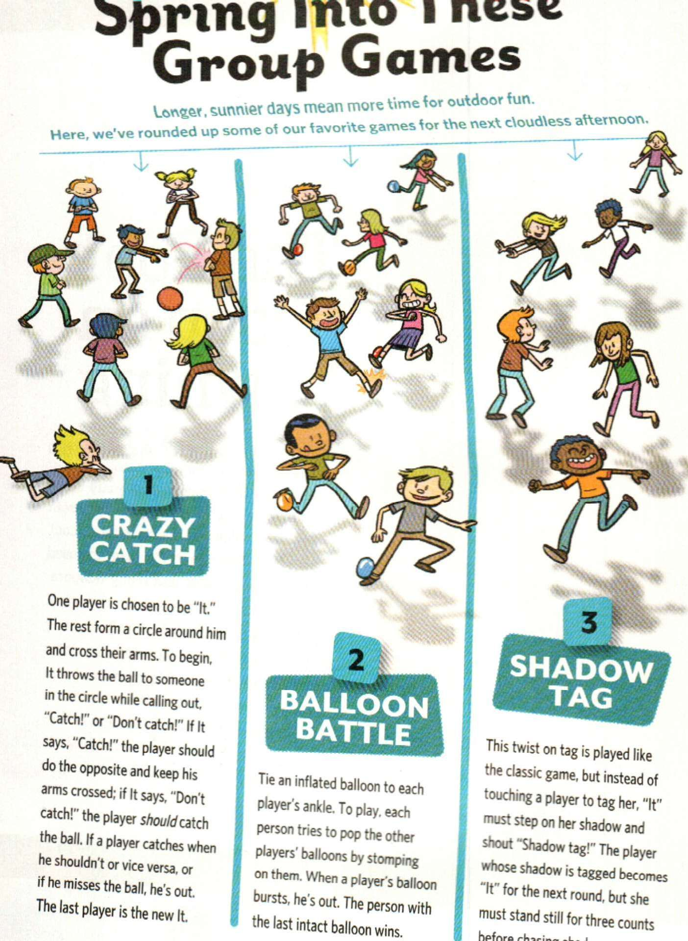 Balloon Battle for Brownies can play outside or inside depending